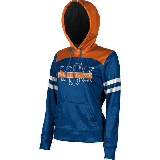 Virginia State University Women's Pullover Hoodie, School Spirit Sweatshirt (Game Day)