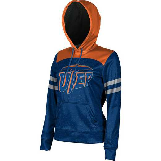 The University of Texas at El Paso Women's Pullover Hoodie, School Spirit Sweatshirt (Game Day)
