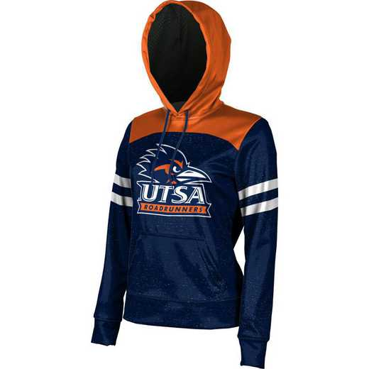 The University of Texas at San Antonio Women's Pullover Hoodie, School Spirit Sweatshirt (Game Day)