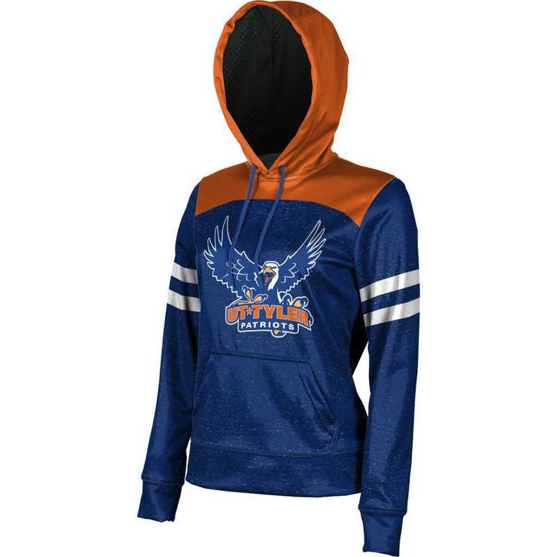 The University of Texas at Tyler Women's Pullover Hoodie, School Spirit Sweatshirt (Game Day)