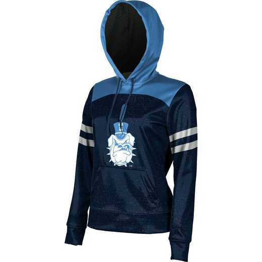 The Citadel College Women's Pullover Hoodie, School Spirit Sweatshirt (Game Day)