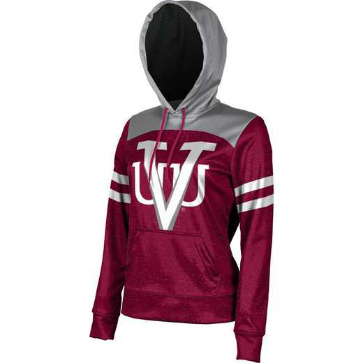 Virginia Union University Women's Pullover Hoodie, School Spirit Sweatshirt (Game Day)
