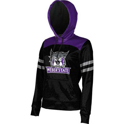 Weber State University Women's Pullover Hoodie, School Spirit Sweatshirt (Game Day)
