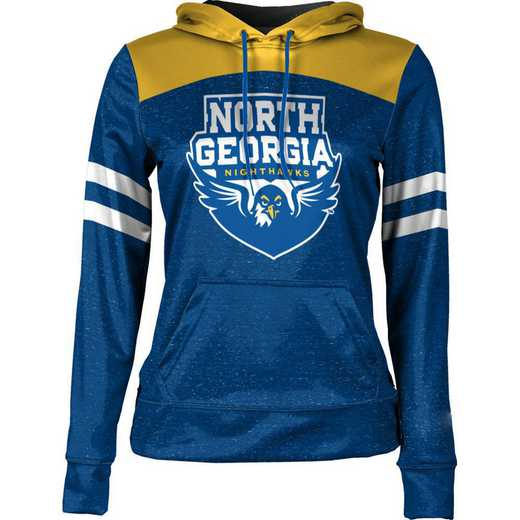 ProSphere University of North Georgia Women's Pullover Hoodie, School Spirit Sweatshirt (Game Day)