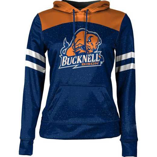 Bucknell University Women's Pullover Hoodie, School Spirit Sweatshirt (Game Day)