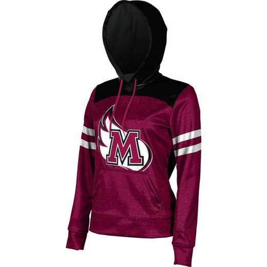 ProSphere Meredith College Women's Pullover Hoodie, School Spirit Sweatshirt (Game Day)