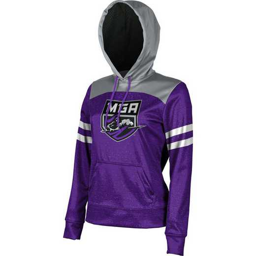 ProSphere Middle Georgia State University Women's Pullover Hoodie, School Spirit Sweatshirt