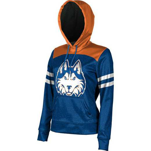 ProSphere Houston Baptist University Women's Pullover Hoodie, School Spirit Sweatshirt (Game Day)