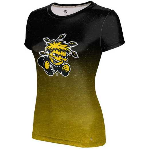 ProSphere Wichita State University Girls' Performance T-Shirt (Ombre)