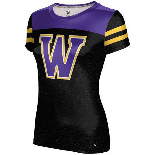 ProSphere Williams College University Girls' Performance T-Shirt (Gameday)