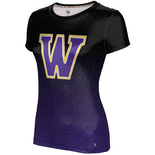ProSphere Williams College University Girls' Performance T-Shirt (Ombre)