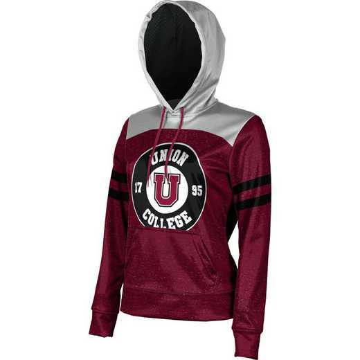 Union College University Women's Pullover Hoodie, School Spirit Sweatshirt (Game Day)