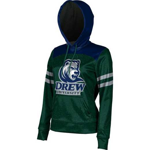 Drew University Women's Pullover Hoodie, School Spirit Sweatshirt (Game Day)