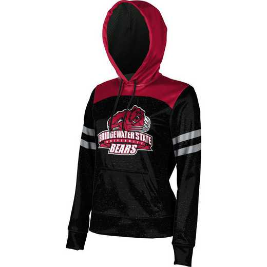Bridgewater State University Women's Pullover Hoodie, School Spirit Sweatshirt (Game Day)