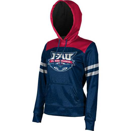 Florida Atlantic University Women's Pullover Hoodie, School Spirit Sweatshirt (Game Day)