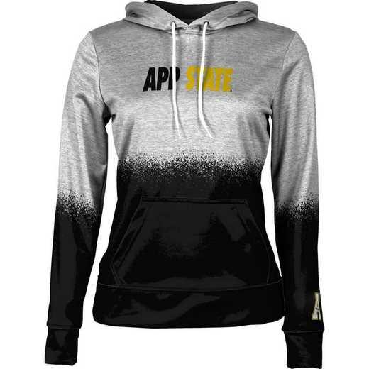 Appalachian State University Women's Pullover Hoodie, School Spirit Sweatshirt (Spray)