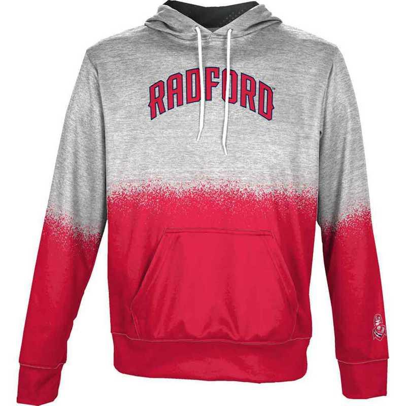 Radford University Men's Pullover Hoodie, School Spirit Sweatshirt (Spray)