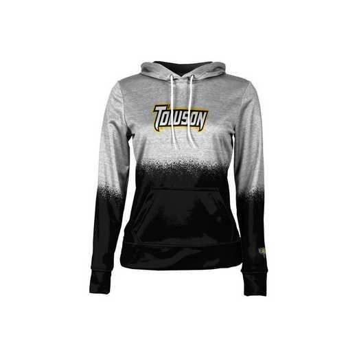 Towson University Girls' Pullover Hoodie, School Spirit Sweatshirt