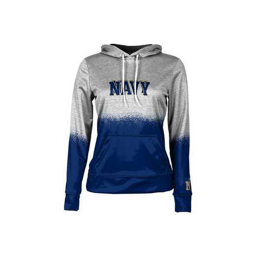 United States Naval Academy Girls' Pullover Hoodie, School Spirit Sweatshirt