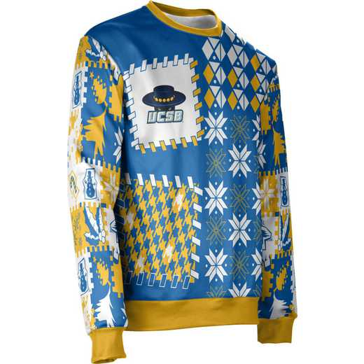 ProSphere University of California Santa Barbara Ugly Holiday Unisex Sweater - Tradition