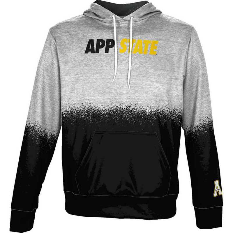 Appalachian State University Men's Pullover Hoodie, School Spirit Sweatshirt (Spray)