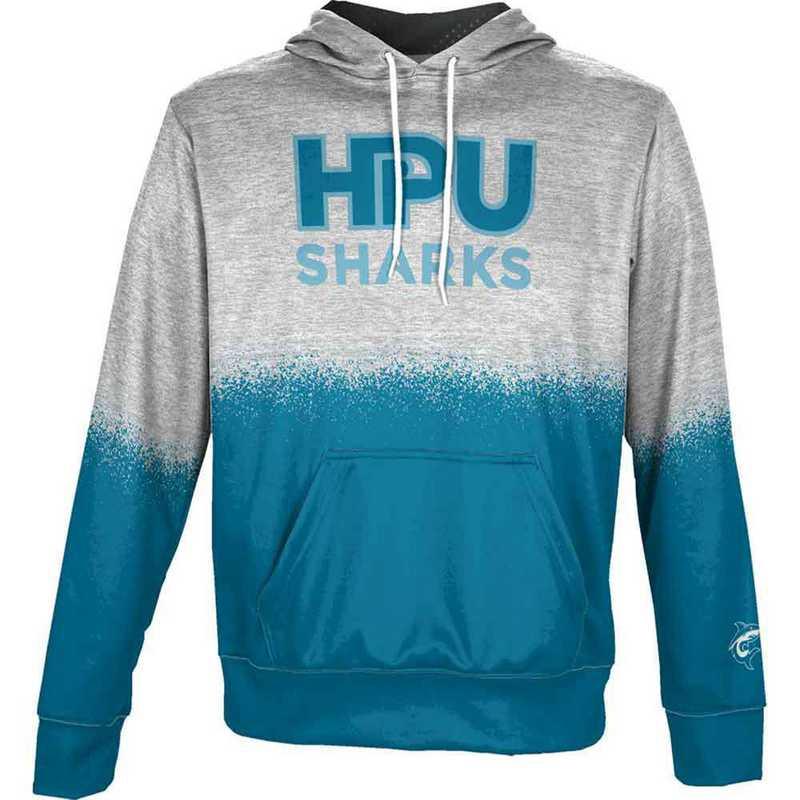 Hawaii Pacific University Men's Pullover Hoodie, School Spirit Sweatshirt (Spray)