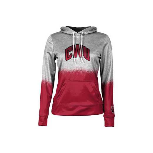 Central Washington University Girls' Pullover Hoodie, School Spirit Sweatshirt