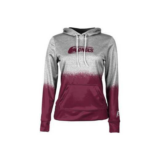 Eastern Kentucky University Girls' Pullover Hoodie, School Spirit Sweatshirt