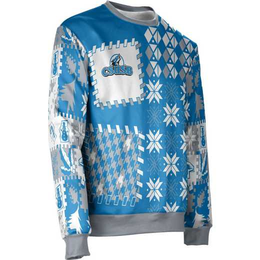 ProSphere California State University San Bernardino Ugly Holiday Unisex Sweater - Tradition
