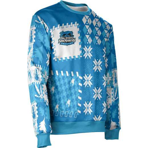 ProSphere California State University San Marcos Ugly Holiday Unisex Sweater - Tradition