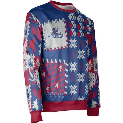 ProSphere Carl Sandburg College Ugly Holiday Unisex Sweater - Tradition