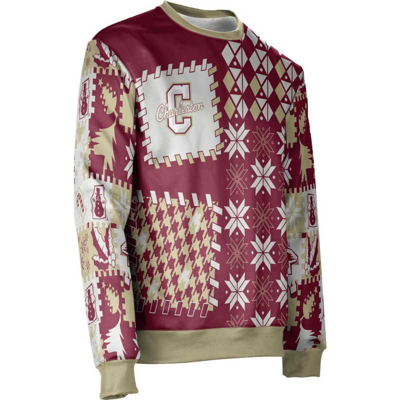 ProSphere College of Charleston Ugly Holiday Unisex Sweater - Tradition