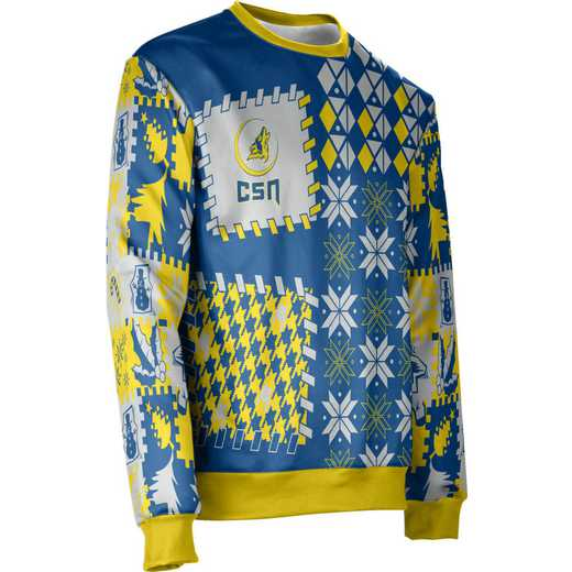 ProSphere College of Southern Nevada Ugly Holiday Unisex Sweater - Tradition