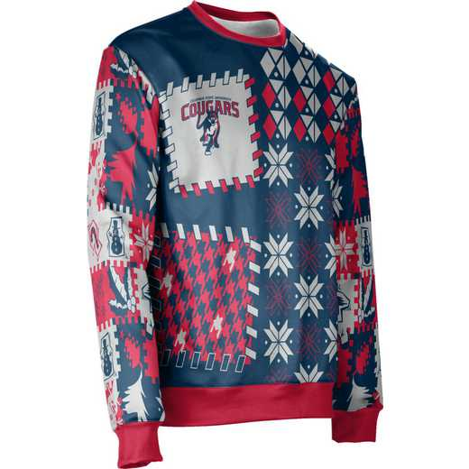 ProSphere Columbus State University Ugly Holiday Unisex Sweater - Tradition