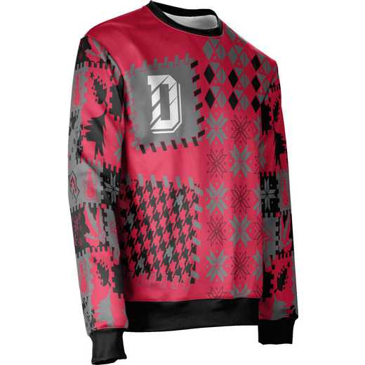 ProSphere Davidson College Ugly Holiday Unisex Sweater - Tradition