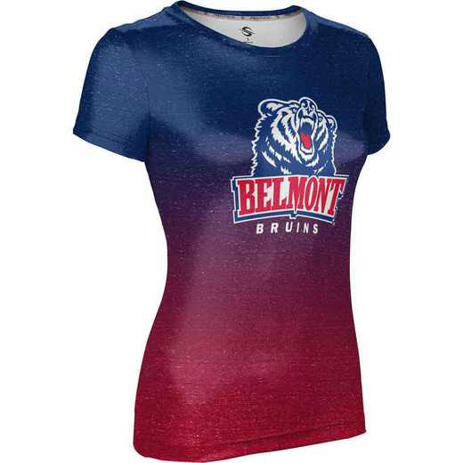 ProSphere Belmont University Girls' Performance T-Shirt (Ombre)
