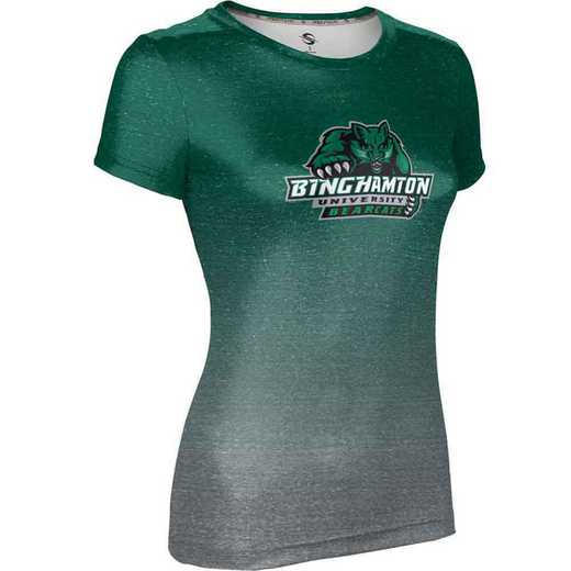 ProSphere Binghamton University Girls' Performance T-Shirt (Ombre)