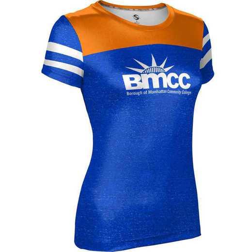 Borough of Manhattan Community College University Girls' Performance T-Shirt (Gameday)