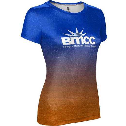 Borough of Manhattan Community College University Girls' Performance T-Shirt (Ombre)