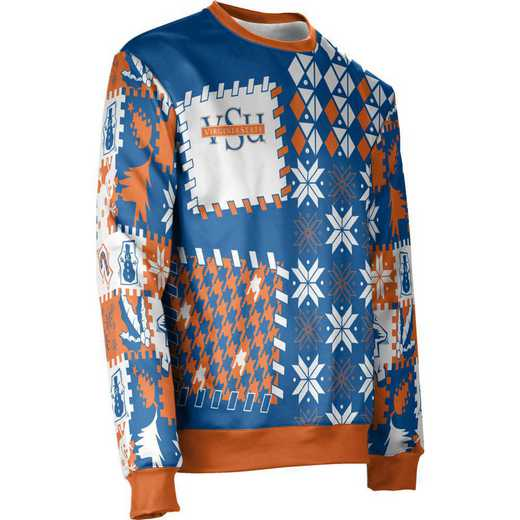 ProSphere Virginia State University Ugly Holiday Unisex Sweater - Tradition