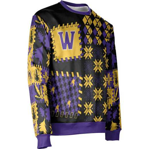 ProSphere Williams College Ugly Holiday Unisex Sweater - Tradition