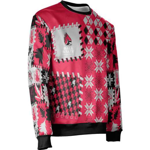 ProSphere Ball State University Ugly Holiday Unisex Sweater - Tradition