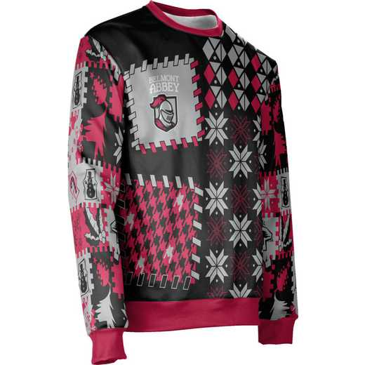 ProSphere Belmont Abbey College Ugly Holiday Unisex Sweater - Tradition