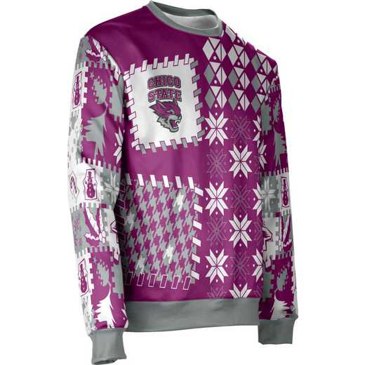 California State University Chico Ugly Holiday Unisex Sweater - Tradition