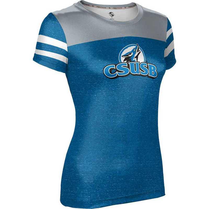 California State University San Bernardino Women's Performance T-Shirt (Gameday)