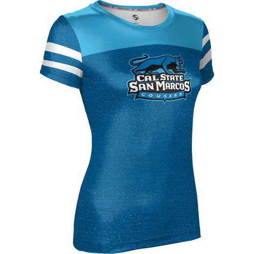 California State University San Marcos Women's Performance T-Shirt (Gameday)