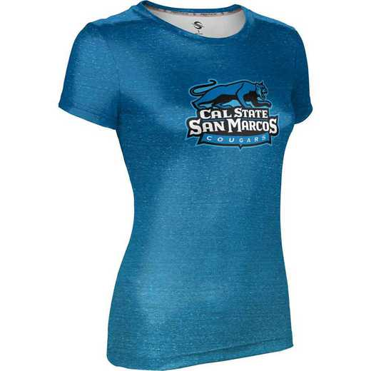 California State University San Marcos Women's Performance T-Shirt (Ombre)