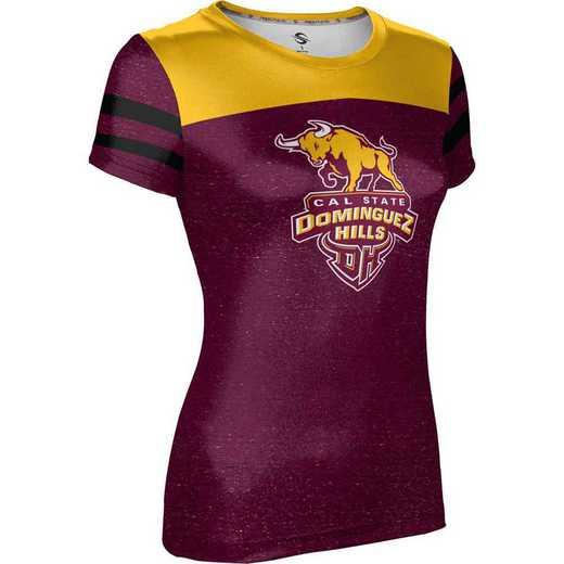 California State University, Dominguez Hills Women's Performance T-Shirt (Gameday)