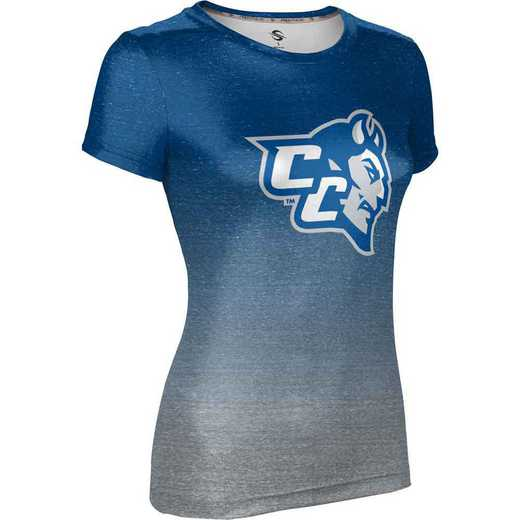 Central Connecticut State University Women's Performance T-Shirt (Ombre)
