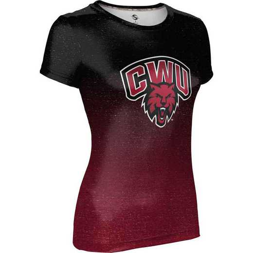 ProSphere Central Washington University Women's Performance T-Shirt (Ombre)